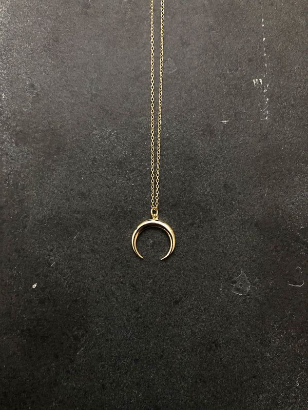 MOONLIGHT NECKLACE 18K GOLD PLATED
