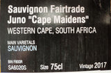 "Sauvignon Fairtrade Juno ""Cape Maidens"""