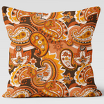 Paisley Print Cushion