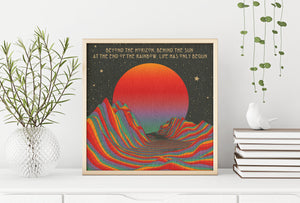 Over The Horizon Print