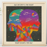 Night Divides The Day Print