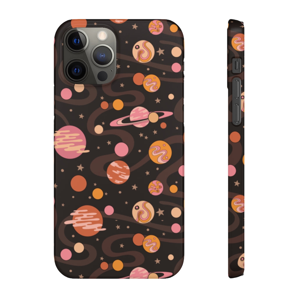 Cosmic Pattern Hard Snap on Phone Case