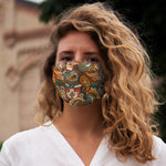 Paisley Snug-Fit Face Mask