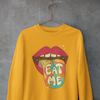 Eat Me 60s Lips Unisex Sweatshirt