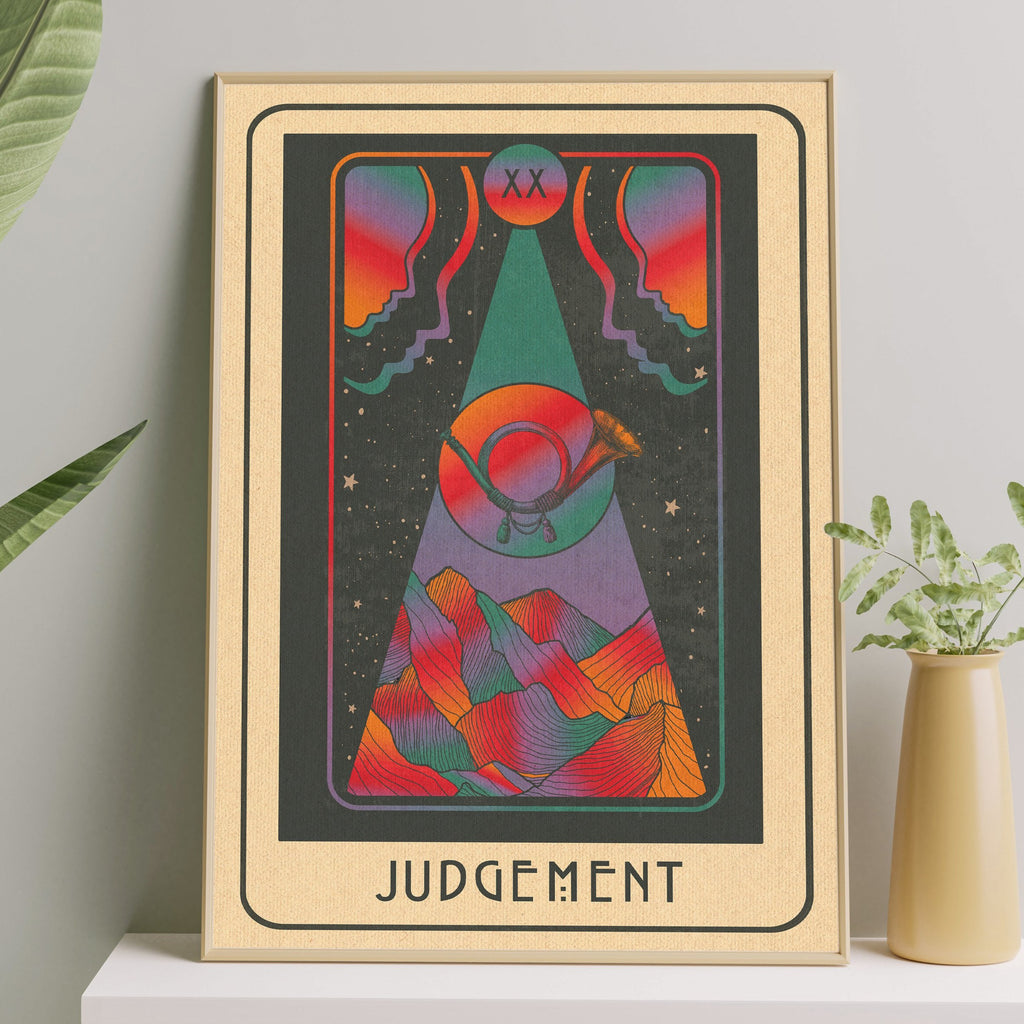 Inktally Major Arcana Tarot - Judgement - Print
