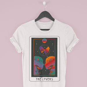 Inktally Major Arcana Tarot - The Lovers - T-shirt