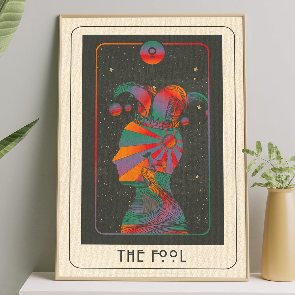 Inktally Major Arcana - Tarot - The Fool - Print