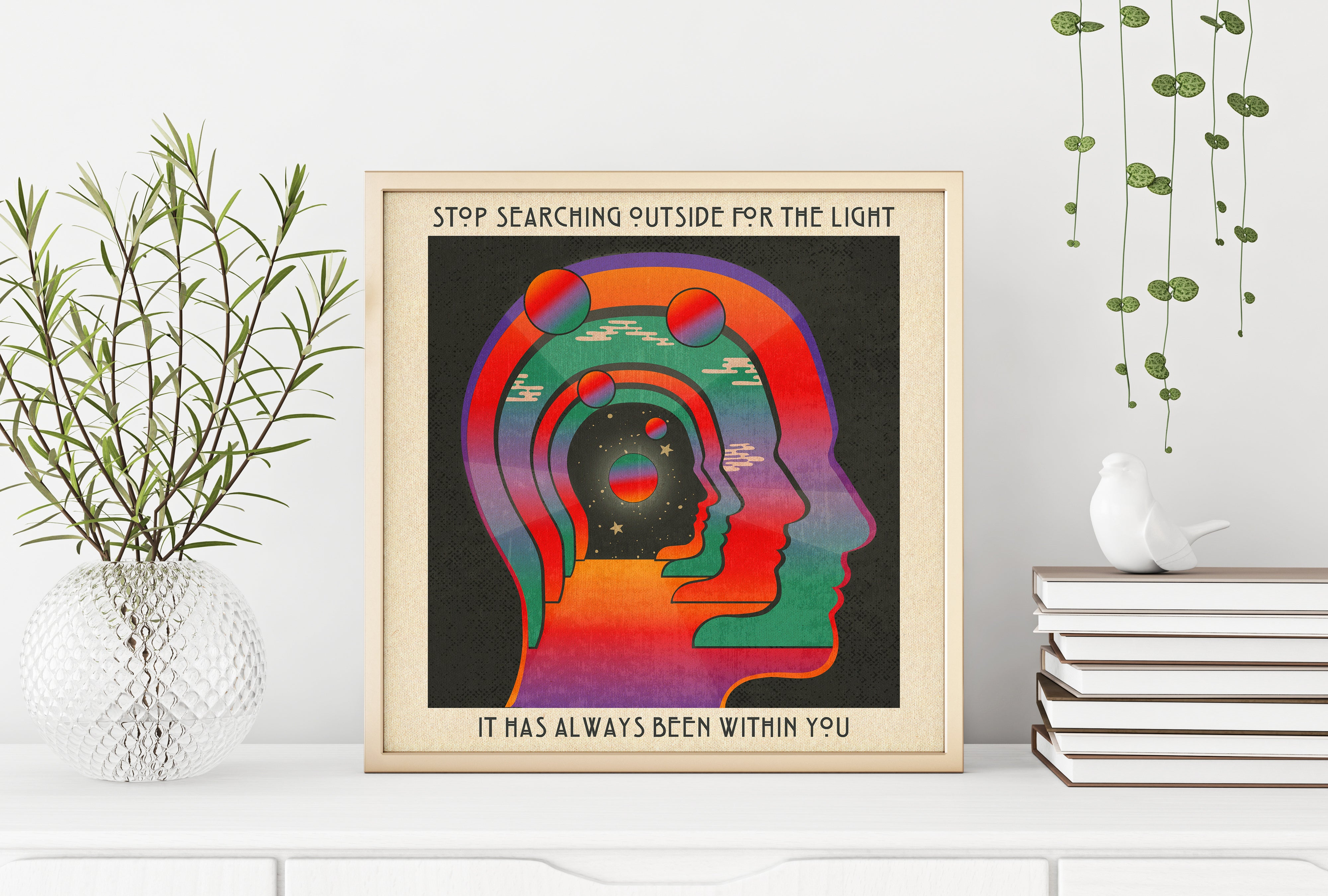 The Light Within- Print