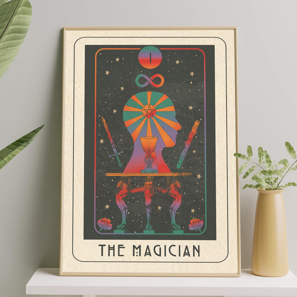 Inktally Major Arcana Tarot - The Magician - Print