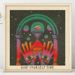 Give Yourself Time - Square Print