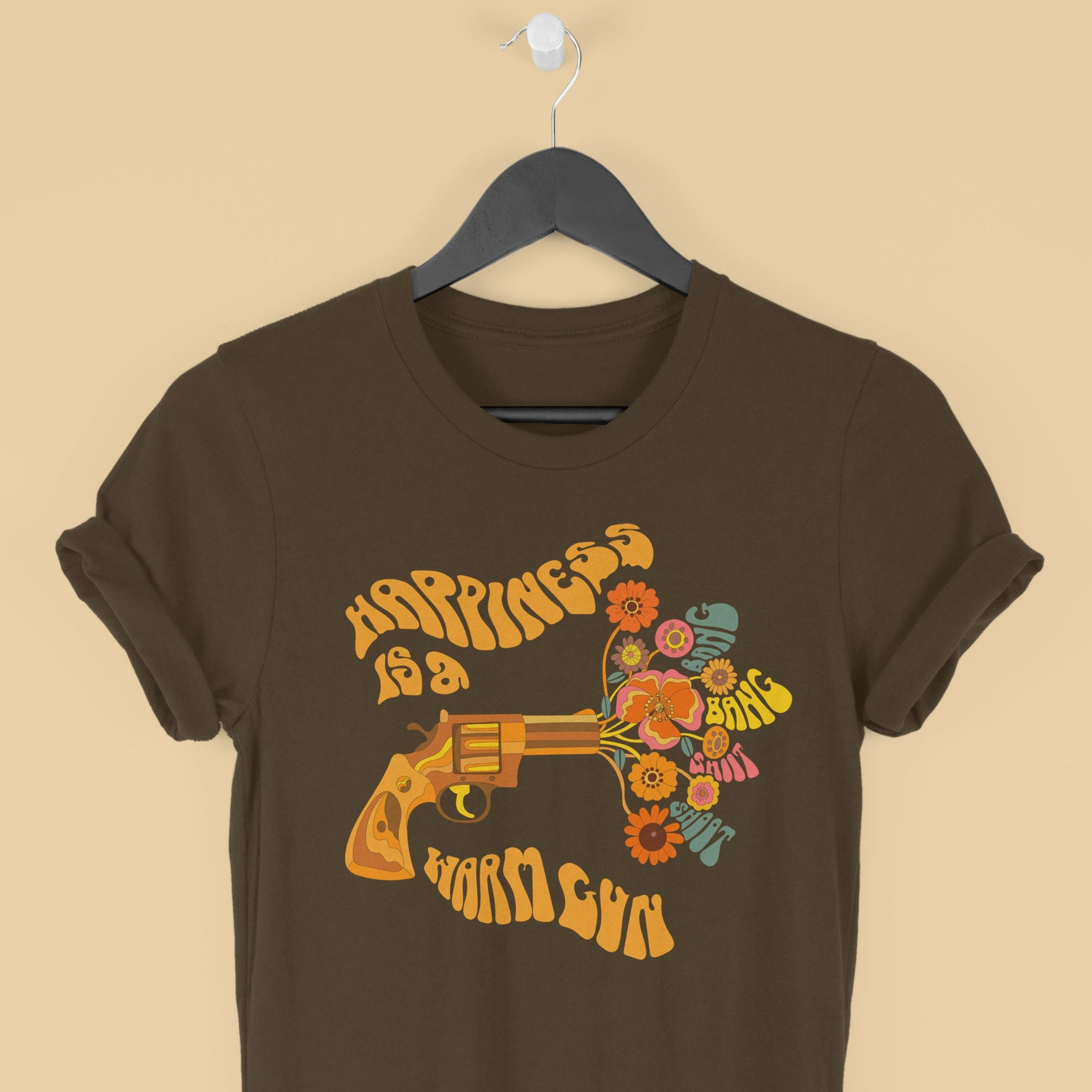 Happiness is a Warm Gun - Beatles Inspired Unisex T-shirt