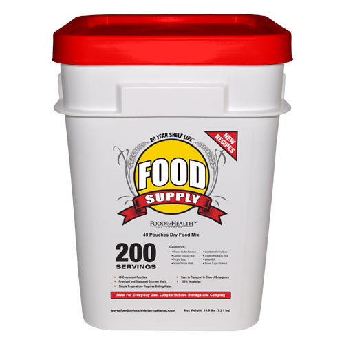 FFH Emergency Food Supply - 200 Servings