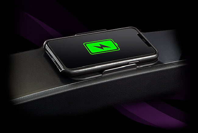 Image of wireless charging feature