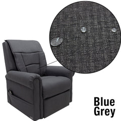 Image of blue grey material