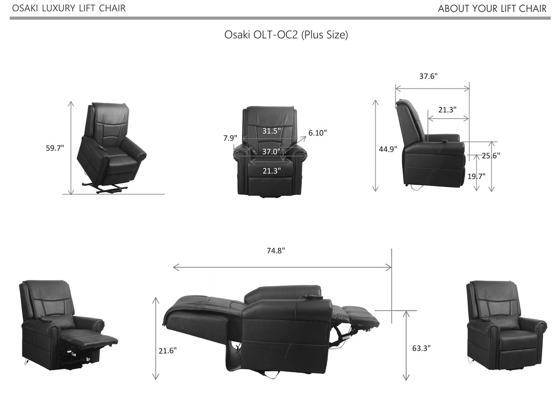 Image of chair specs