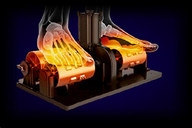 Image of heated foot roller