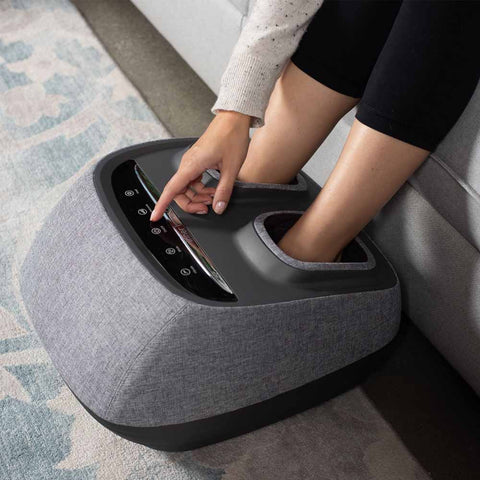 Image of Inner Balance Wellness Arch Refresh Premium Heated Foot Massager w/ Foot Insoles - Massage Chairs Express