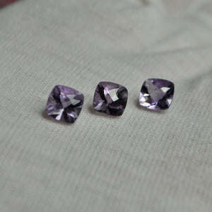Faceted Amethyst Square