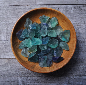 Raw Rainbow Fluorite Pieces