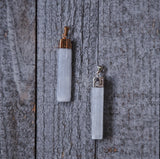 Selenite Pendants