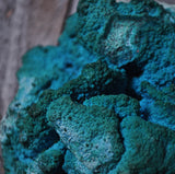 Malachite on Chrysocolla with Shattuckite