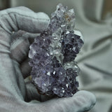 Moroccan Amethyst with Calcite