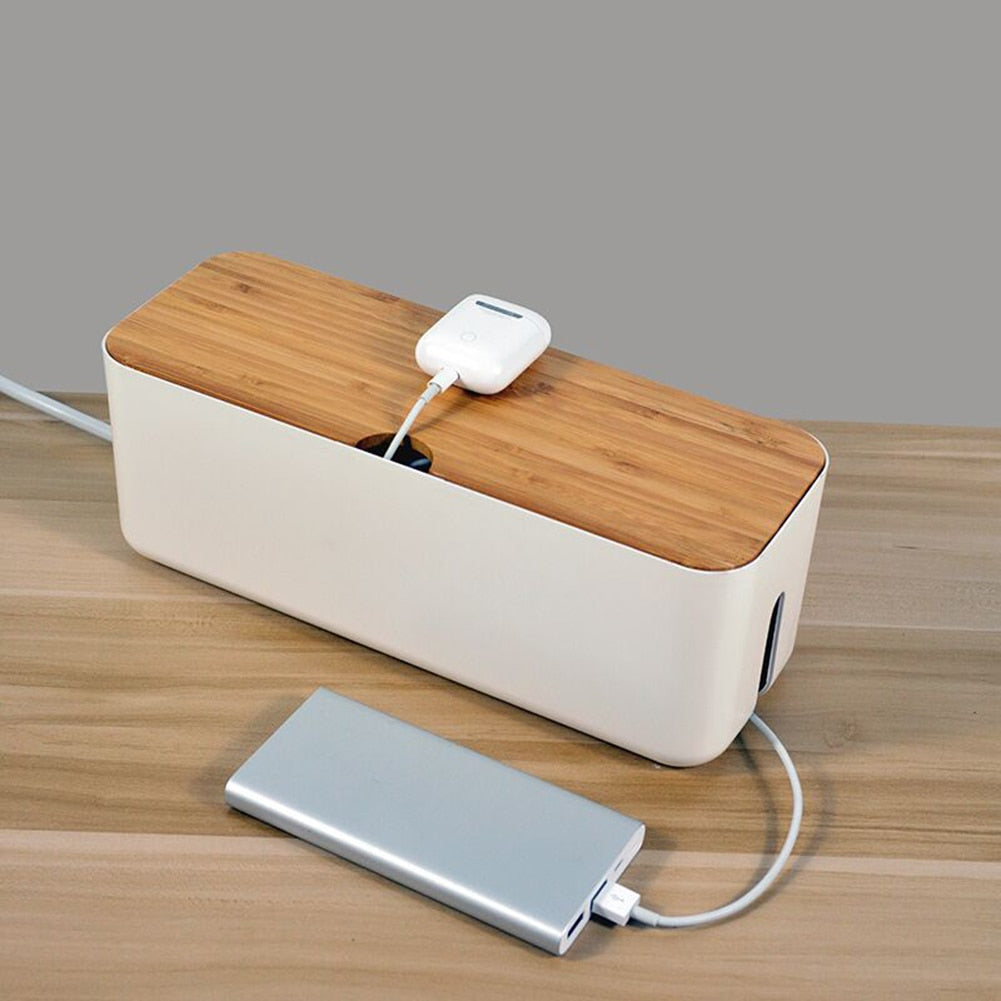 Cable Organizer Storage Management Box