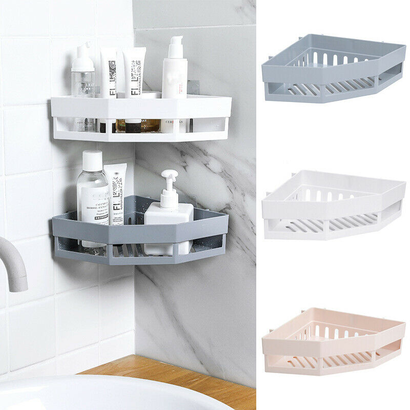 Wall-Mounted Corner Shelf/Rack | Sweet Home