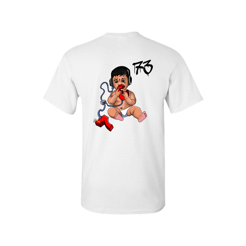 Bitch Cuero White T-Shirt