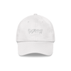 LABEL WHITE LOGO DAD HAT + DIGITAL EP