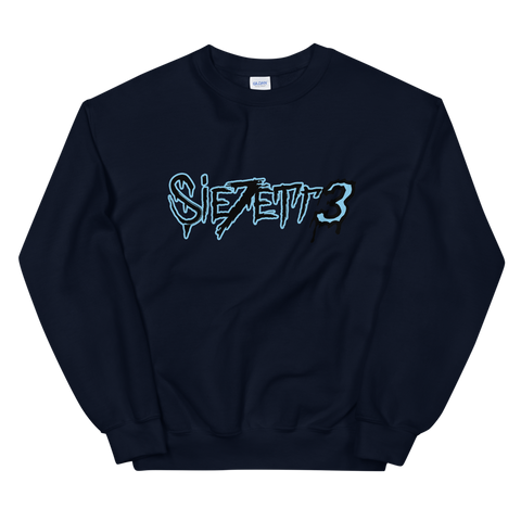 LABEL LOGO NAVY CREWNECK + DIGITAL EP