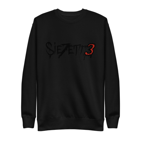 LABEL LOGO BLACK CREWNECK + DIGITAL EP