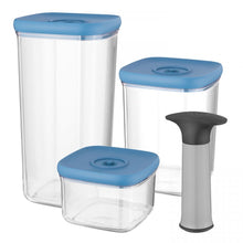 Load image into Gallery viewer, 4-pc set vacuum food containers - Leo
