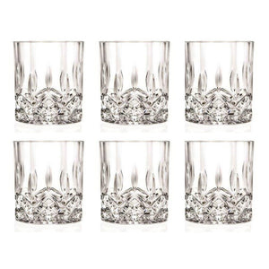 RCR Glass Cup Set, 6 Pieces