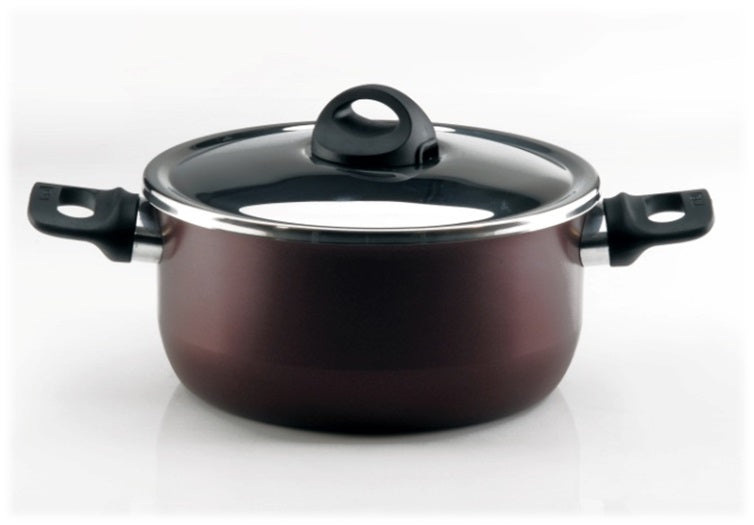 Tefal  Zahran Cooking Pot - Red, 26Cm