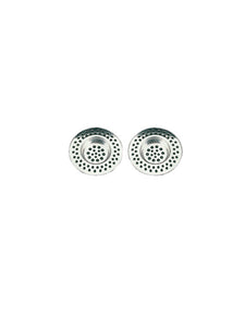 Set of Two Sink Strainers