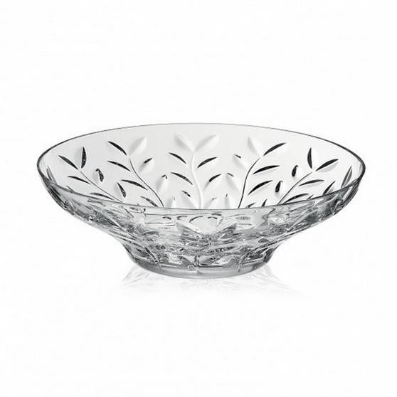 RCR Laurus Embossed Crystal Bowl