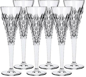 RCR Enigma Champagne Flute Glass, Set Of 6