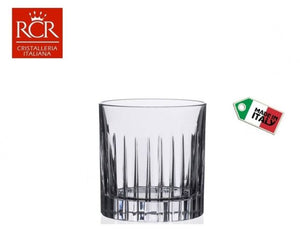 RCR Glass Cup Set, 6 Pieces, 313 ml