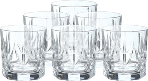 RCR Glass Tumbler Set, 6 Pieces