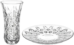 RCR Enegma Vase With Plate Set