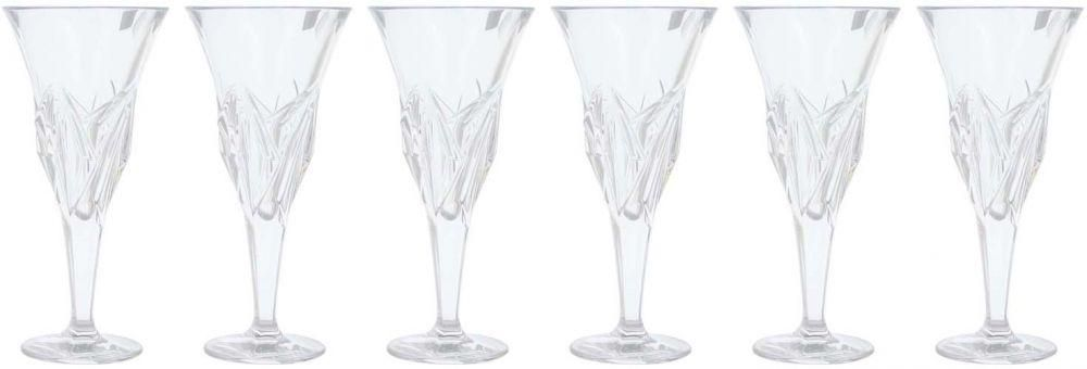 Bohimia Princess Goblet Set, 6 Pieces