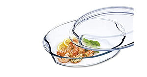 Simax Glassware heat protective oval 4.4 clear