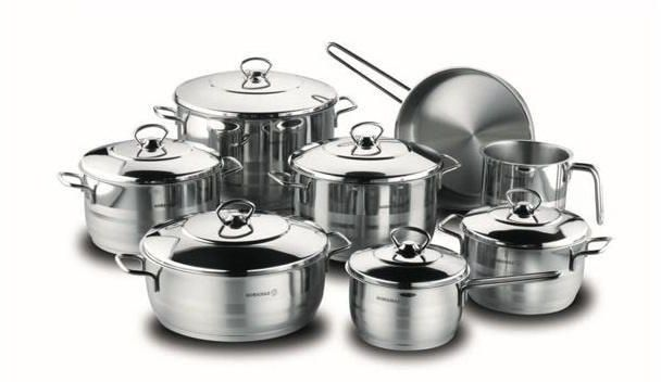 Stainless Steel Set 14 PIECES ASTRA GRAND