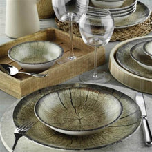 Load image into Gallery viewer, Nano Porcelain 24 pieces dinner set