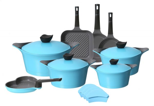 Neoflam Cookware Set, 12 Pieces