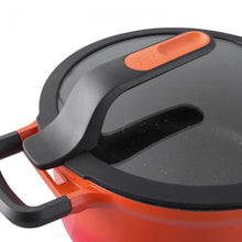Load image into Gallery viewer, Covered stay-cool sauté pan orange 24 cm - Gem