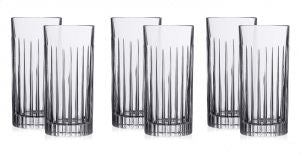 RCR Glass Drinkware Set Of 6 Pieces