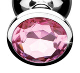 51184 - Butt Plug, Pink Gem - Large (Pink)