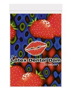 19897 - Dental Dam, Latex Strawberry